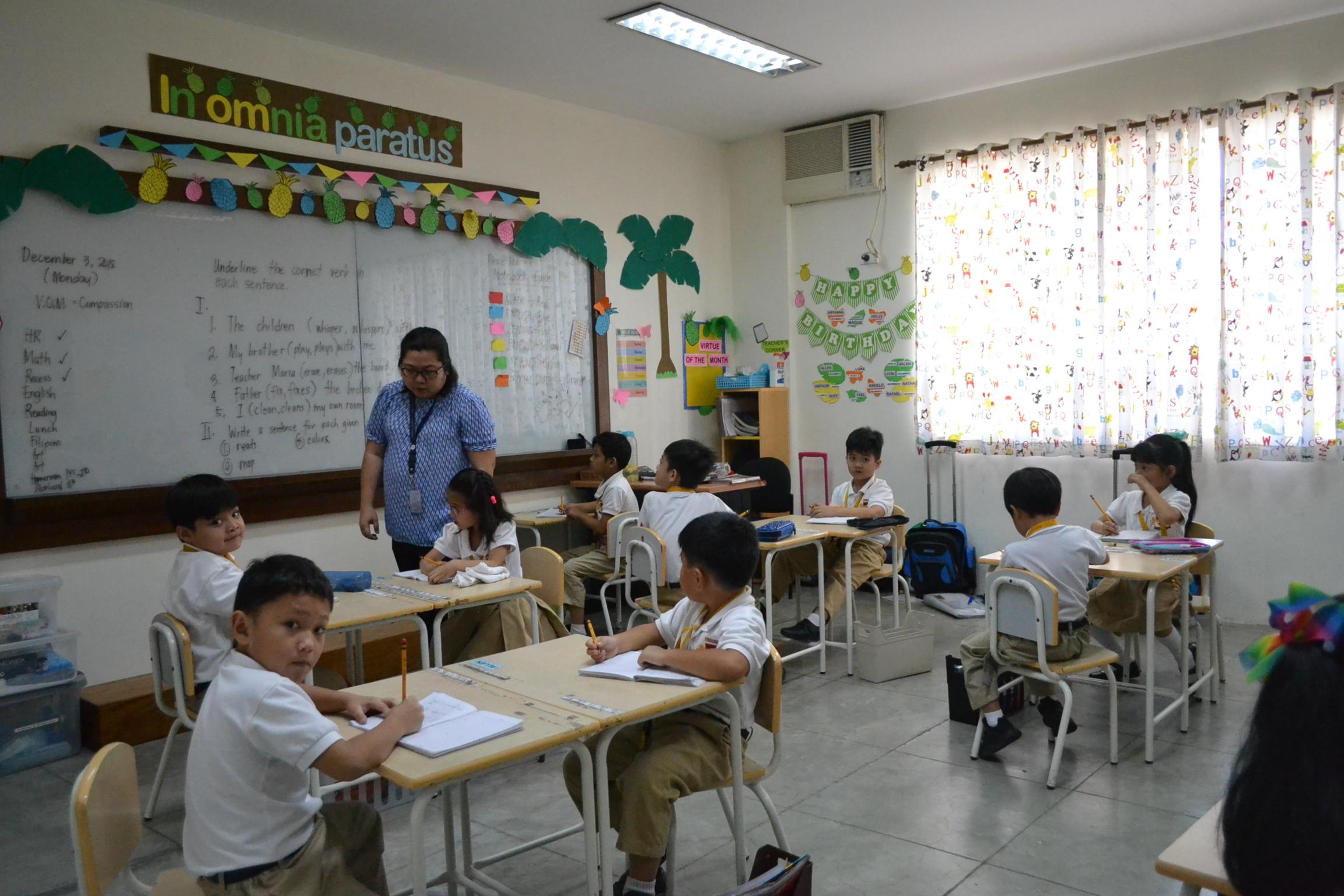 Grade School Classrooms Photo