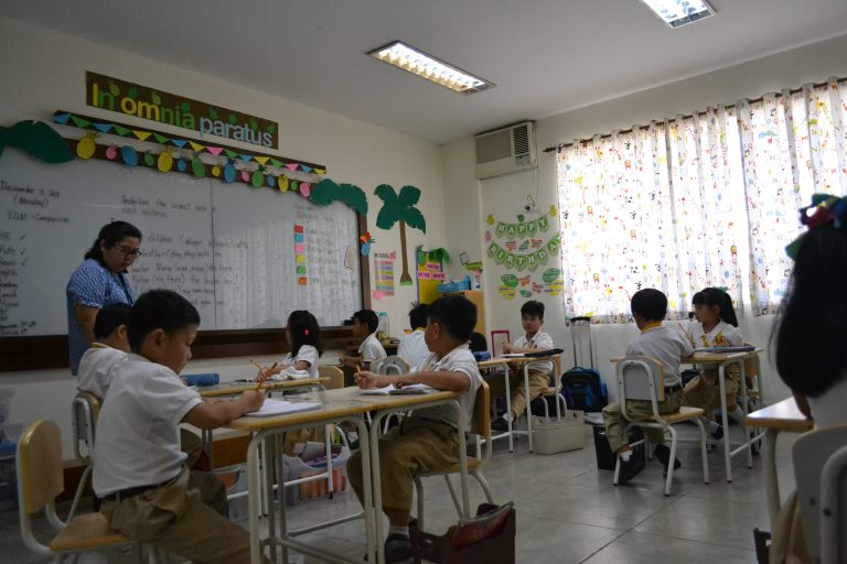 Grade School Classroom Photo 1