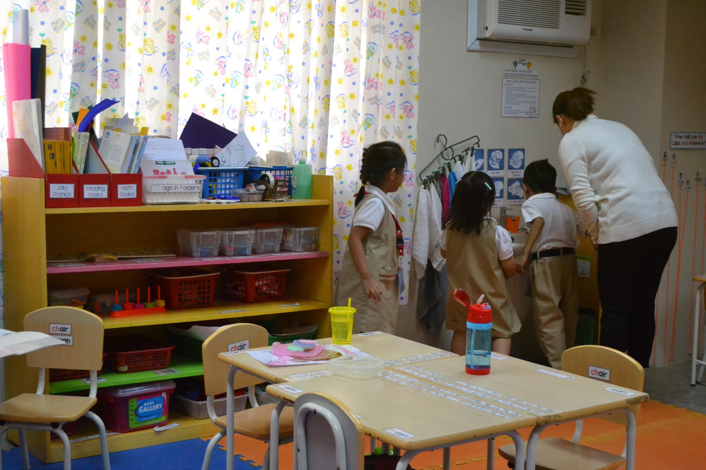 Preschool Classrooms Header Photo